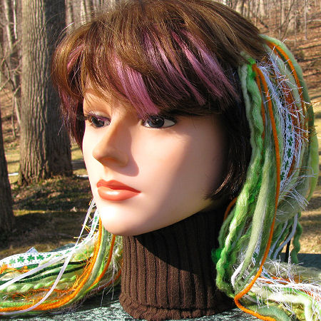 Luck of the Irish - Saint Patrick's Day yarn dreadfalls