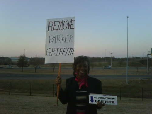 Griffith/Boehner Protest Remove Parker