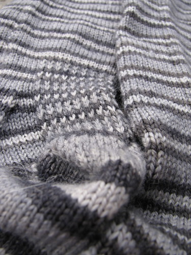 Film Noir socks close up