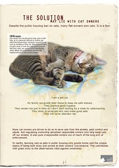 Poster: The solution may lie with cat owners