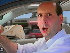 Jeff Lewis in Taco Bell video