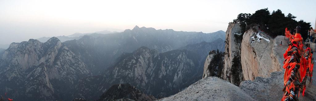 Hua Shan Panorama 华山