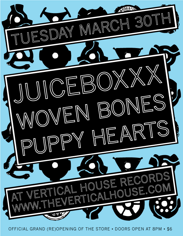 March 30th Fun at Vertical House Records