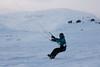Haukeli (TrulsHE) Tags: winter white snow kite cold norway norge vinter cloudy kiting dnt snø kiteskiing bergans haukeli snowkiting kaldt hvitt overskyet fjellstue haukeliseter turistforeningen