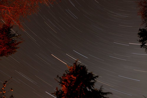 Star Trail, Cape Lookout campground