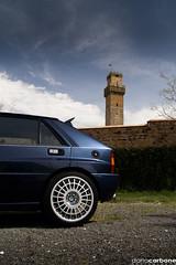 Castello della Delta (Turbo Delta) Tags: auto blue roma car italian blu famous rally madras champion delta 1991 legend midday castello macchina evo lancia 2010 italiana campione dario hf carbone integrale cecchignola darioc