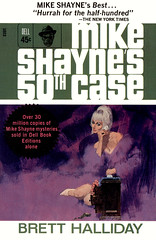 Mike Shayne's 50th Case (McClaverty) Tags: mystery illustration paperback crime murder pulp privateeye detective suspense robertmcginnis mikeshayne bretthalliday