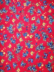 •●• Red love •●• (Wonderlineland❤) Tags: flores vermelho tecido algodão fq costura retalho