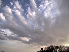 Clouds Dance (Mari Rasti) Tags: blue trees sky leave love clouds dance high alone sad power iran god wave gift shiraz cry sonyh50 marirasti