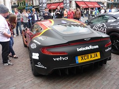 One of 77 (BenGPhotos) Tags: red black 3000 supercar gumball astonmartin v12 2011 hypercar worldcars one77 xc11aja