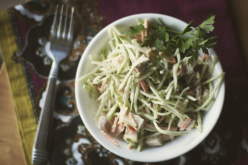 Monday Night Dinner: Chicken Salad Slaw