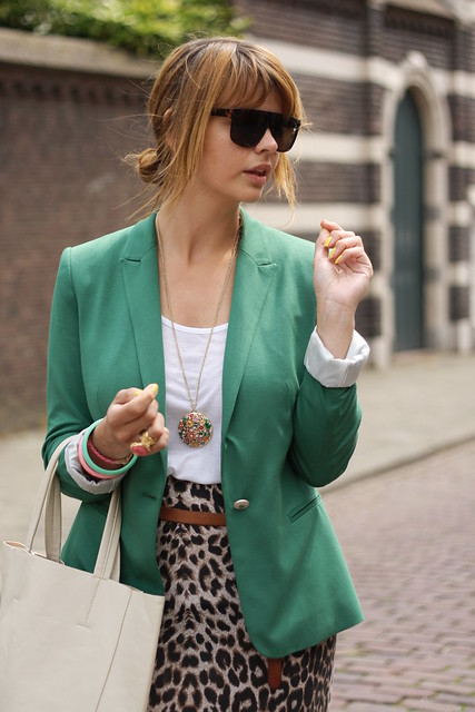 groene blazer 187
