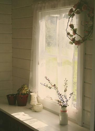 summer house window