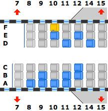 continental plane seat change