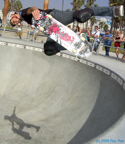 Venice Skate Park Picture of the Week by Ray Rae Goldman
