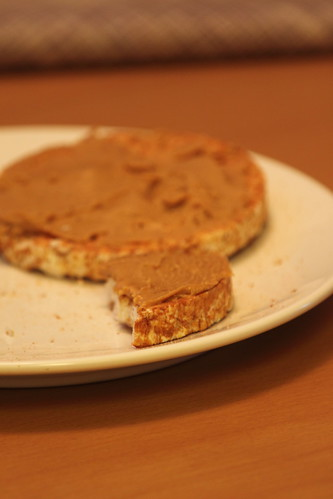 Peanut Butter Rice Cake