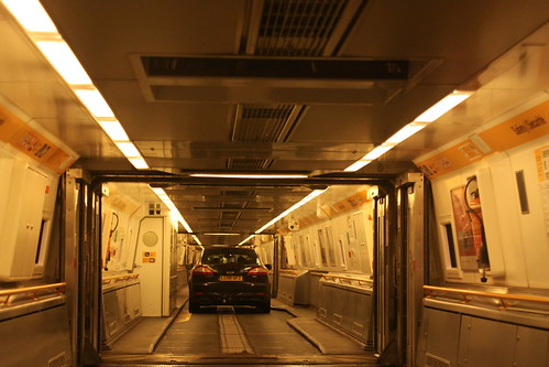 Channel Tunnel Train.