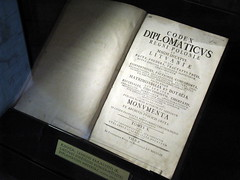 Codex Diplomaticus: could this be an example to us?