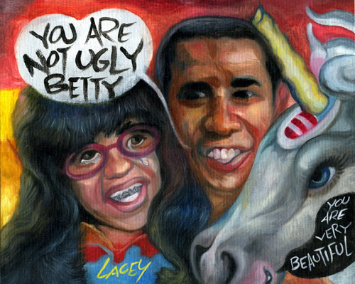 Obama en  Ugly Betty