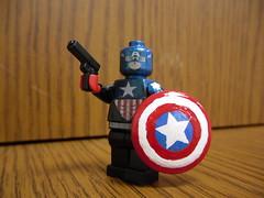 Captain America (Bucky Barnes) (Silentmaster OO5) Tags: lego marvel captainamerica brickarms brickforge fineclonier