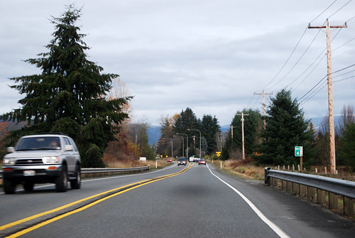 SR 92 east of Lake Stevens