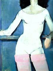 Torso de Ballet de Rafael Alonso por TeresalaLoba (TeresalaLoba) Tags: nude spain arte nu scan galicia pintura desnudo oleo oiloncanvas artgalleryandmuseums pintoresgallegos rafaelalonsofernandez teresalaloba