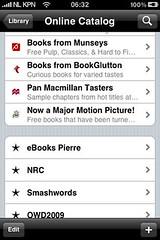 EPUB boeken via Stanza (foto door: PiAir (Old Skool))