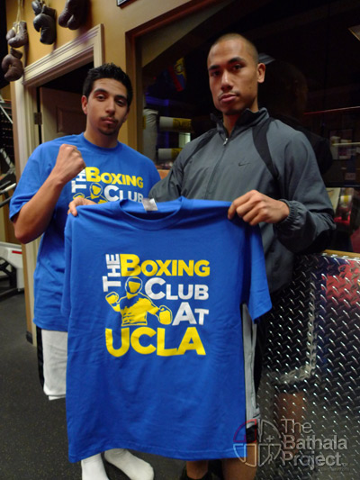 Boxing club at UCLA's team shirts