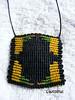 (lavestruz) Tags: necklace handmade artesanal collar macrame makrame hilos colgante tejido macramé