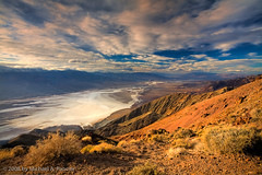 Death Valley - Dante's View (Michael Pancier Photography) Tags: california red usa nature landscape sandstone desert deathvalley nationalparks americansouthwest deathvalleynationalpark michaelpancier michaelpancierphotography landscapephotographer wwwmichaelpancierphotographycom señorcohiba michaelpancierphotographycom