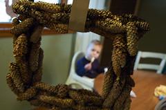 (Jodimichelle) Tags: lifelist free wreath homemade howto pinecones jodimichelle