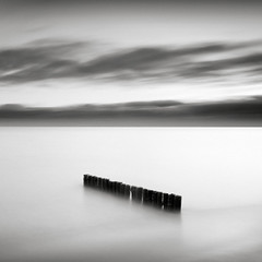 Baltic Sea (p i c a) Tags: longexposure sea sky cloud seascape beach water skne seaside sweden balticsea groyne stersjn ystad ndfilter nd110 bwnd110 ostrellina