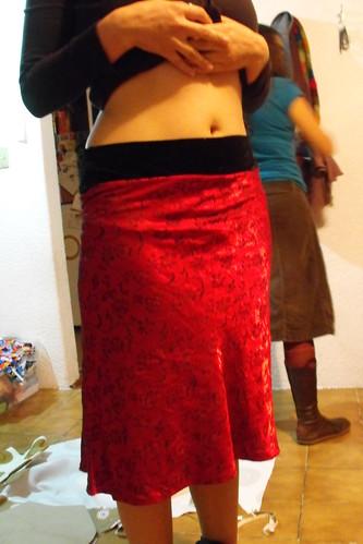 La falda después