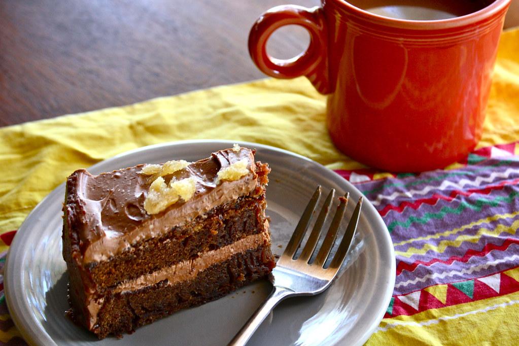 chocoginger cake