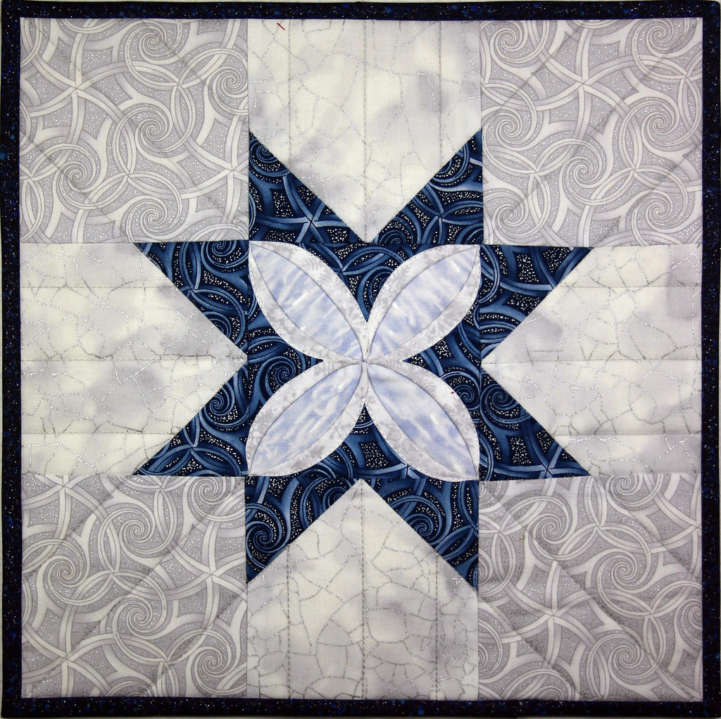 Cathedral Window Quilts Snips And Bits From Shelley S