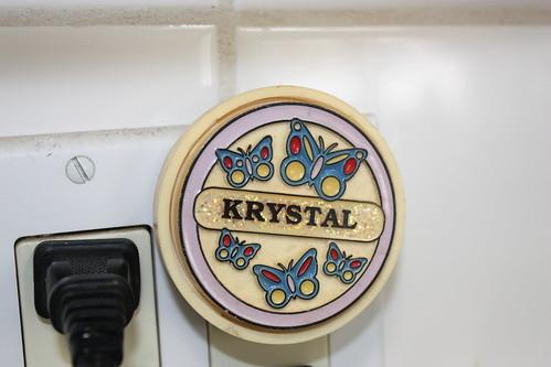 Krystal with a K.