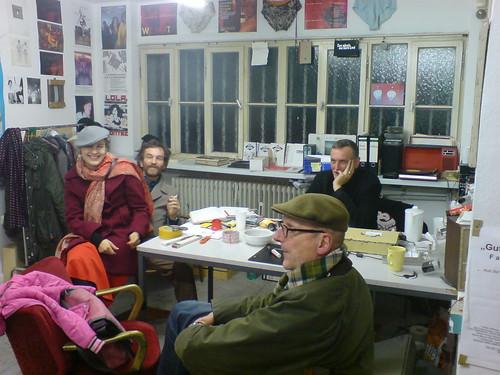 Büro Kunstverein Familie Montez. Oktober 2007