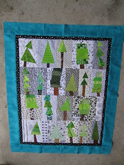 My tree quilt so far...