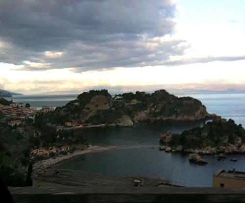 Islands near Taormina