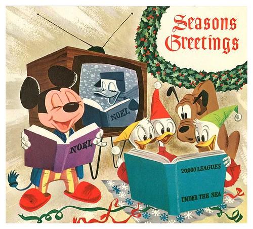 010-Tarjeta de Navidad Disney 1957-ASIFA Hollywood