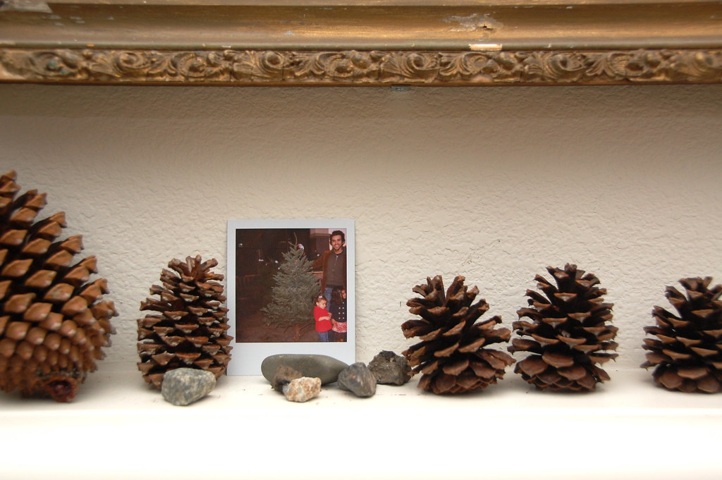 on top of the mantle
