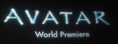 Avatar World Premiere screen on Filmstalker's Flickr