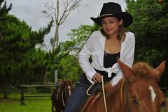 Pretty girl in cowboy (Ladydune) Tags: cowboy cowboyhat pretygirl girlincowboy