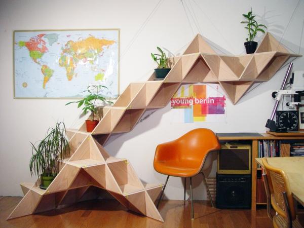 Modular Geometric Furniture