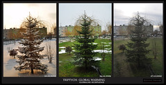 Triptych: Global Warming | Tryptyk: Globalne Ocieplenie