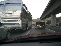 christmas giant dwf driveby huge trucks rv expensive motorhome 2009 drivingwhileflickring