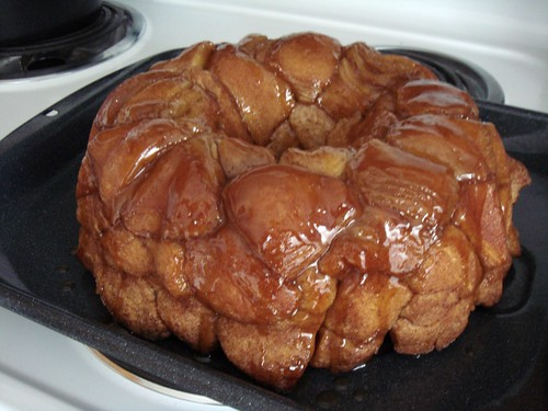 Monkey Bread Unmolded