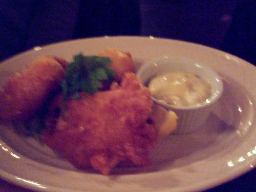 Monkfish Fritters, Brinkley's