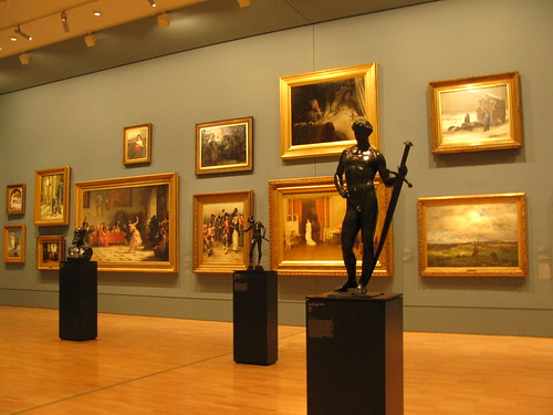 Paintings and Scultures at the National Gallery of Victoria