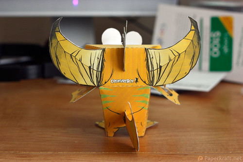 Thorndyke Monster Papercraft 03